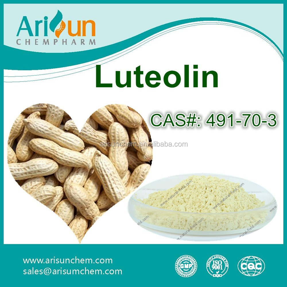 Top Quality Peanut Shell Luteolin Powder 98% Manufacturer
