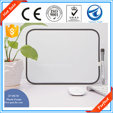 Perfect!10 years experience factory supply portable mini magnetic whiteboards for office,mdf small whiteboards for school kids