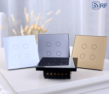 hot sell fashion EU standard electronic wall switch touch light switch