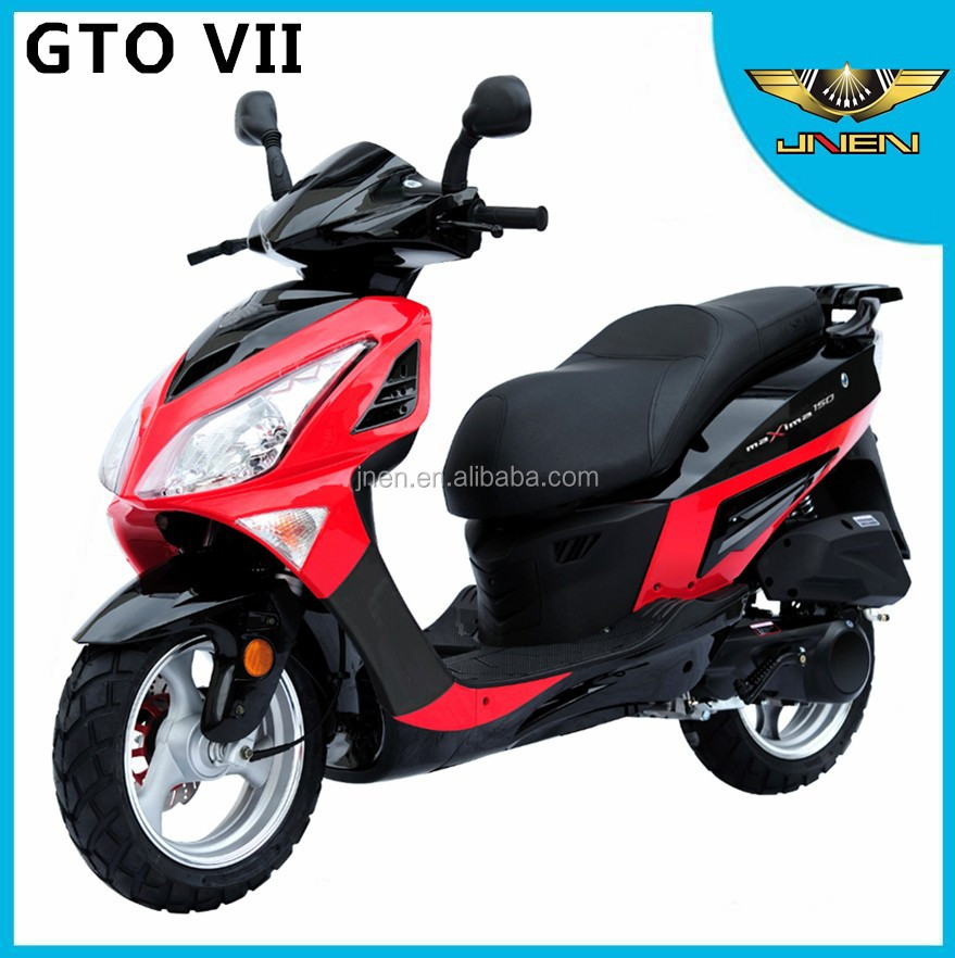 GTO VII JNEN motor Patent design 2017 fashion model hot sales gasoline scooter 50CC/125CC EEC