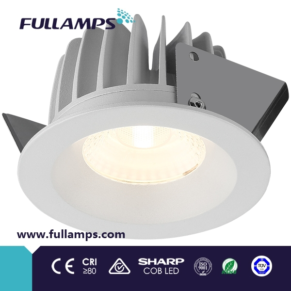 Fullamps SAA IC-F <strong>C</strong>-Tick CE RoHS TUV Australia market fixed lens 7W 10W led downlight warm white 2700k spot light
