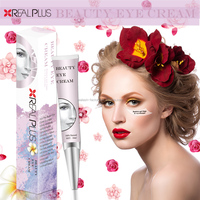 GMP FDA CE Organic Cosmetics Fantastic Result Anti Eye Bags And Wrinkles REAL PLUS Beauty Eye Cream