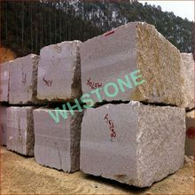 economical raw granite blocks with factory price