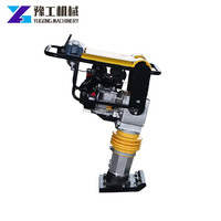 YG-G80 Gasoline Soil Tamping Compact Rammer Electric Tamper Rammer With Factory Price