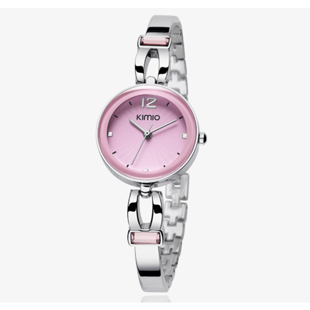 Hot Sales! Kimio Fashion Women Dress Watches  Dress Ladies Bracelet Watches for Women Diamond Jewel Lucky Clover Quartz Watches