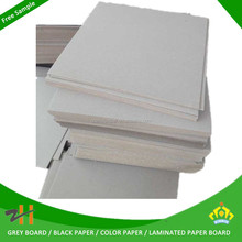 Alibaba trade assurance grey chip board 1.5mm thick paper