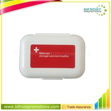Red Cross Wallet Wholesale Price Plastic Pill Box