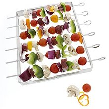 Stainless Steel Roasting Sticks, Marshmallow Roasting Sticks, Kebab Skewer Stand