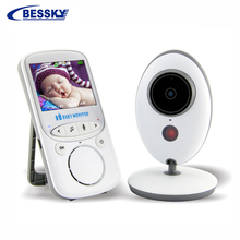 Bessky new Two way talk 2.4 inch LCD wireless video baby monitor 2.4GHz with IR Nightvision T
