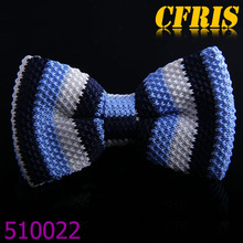 Wholesale various designs knitted cheap bow tie for men