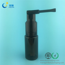 35ml high quality plastic powder spray pump bottle for baby talcum