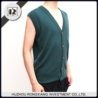 Latest sweater designs fashion men vest for winter