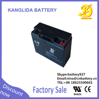 rechargeable deep cycle batterypower solar cells 12V 17ah