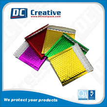 Top Grade Quality Custom Colored Plastic Padded Envelope Bag Wholesale Metallic Bubble Mailer