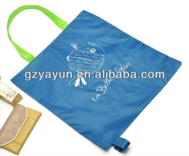 2016 new design foldable bag,shopping bag,nylon bag china manufacturer
