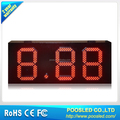 OUTDOOOR 15 INCH RED COLOR 8.88 LED GAS PRICE SIGN