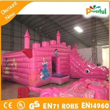 hot sale cheap commercial bounce houses,vinyl for bounce houses