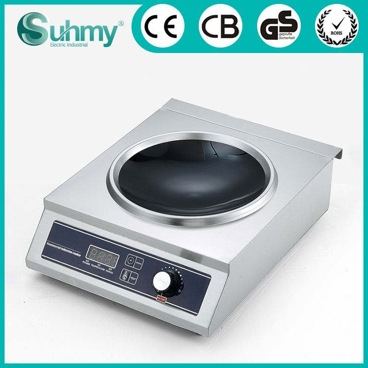 Latest new model high quality electric commercial induction cooker 3500w 220v