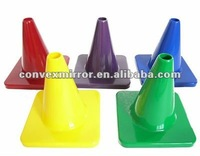 6 INCH PVC TRAFFIC COLOR CONE