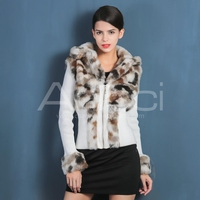 Classic pattern colorful latest coat design for womenfaux fur coat