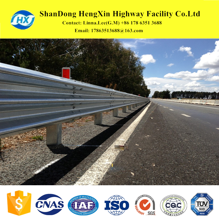 traffic facilities road safety crash barrier highway guardrails