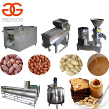 High Efficiency Nut Colloid Mill Cocoa Bean Grinding Production Line Peanut Butter Making Machine