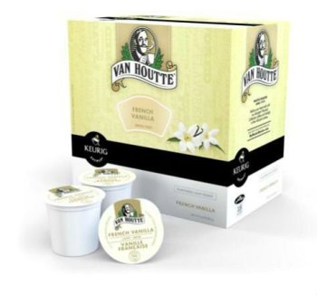Keurig K-Cups Van Houtte French Vanilla Coffee 18ct