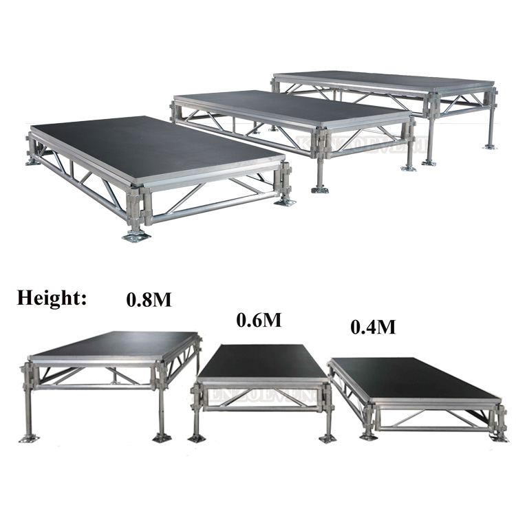 Factory Price Portable Aluminum Outdoor Concert Stage for Sale