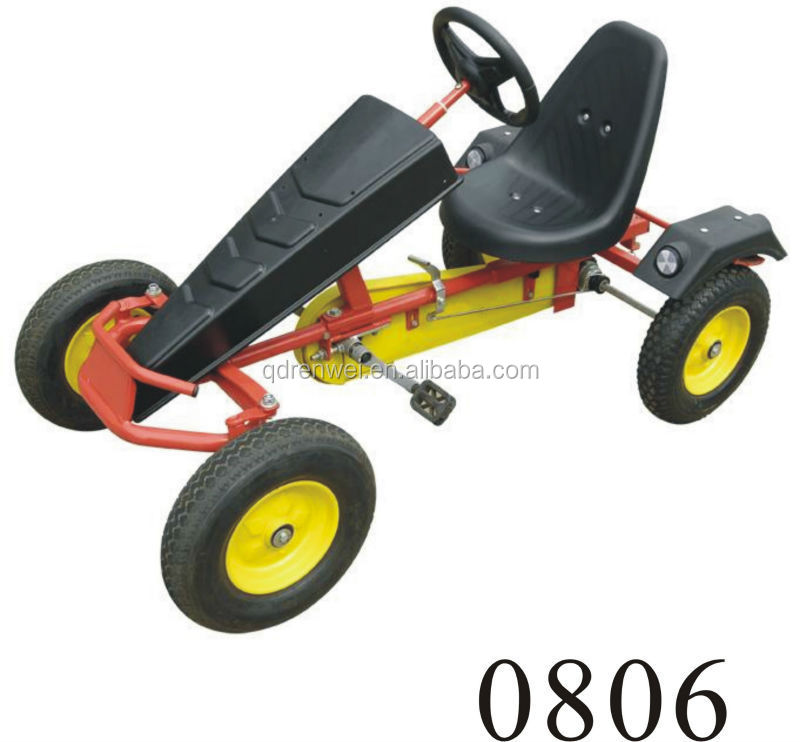 single seat sand beach cart Foot pedals save energy