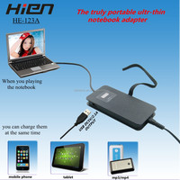 shenzhen usb to pci external adapter with usb port for laptop/tablet/mobilephone with lcd dislpay