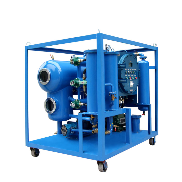 Factory Oil Dehydration Machine Waste Oil Purification Transformer