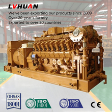 Best selling high standard electricity generation 1mw natural gas generator
