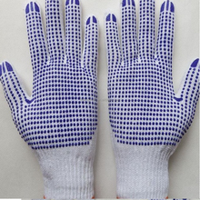 dotted safety gloves mechanic protect use