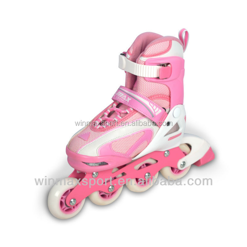 Winmax Blue/pink/yellow 2 in 1 inline skate shoes in sport shoes,outdoor sport skate shoes,land roller skate