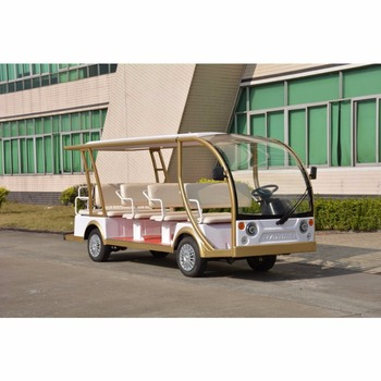 Exalted popular 4 wheel school battery powered passenger golf cart bus