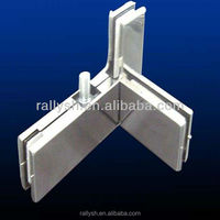 glass partition sliding door top patch fittings