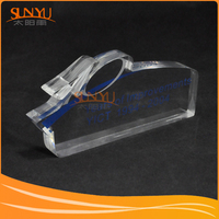 Chinese Manufacturer PMMA Clear Blank Trophy Plaques