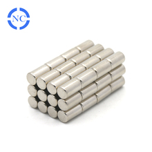 high strength factory supply 5x10mm cylinder neodymium magnet for magnetic stirrers