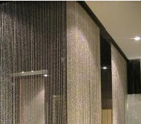 metal beads string cafe/hotel/restaurant divider curtain
