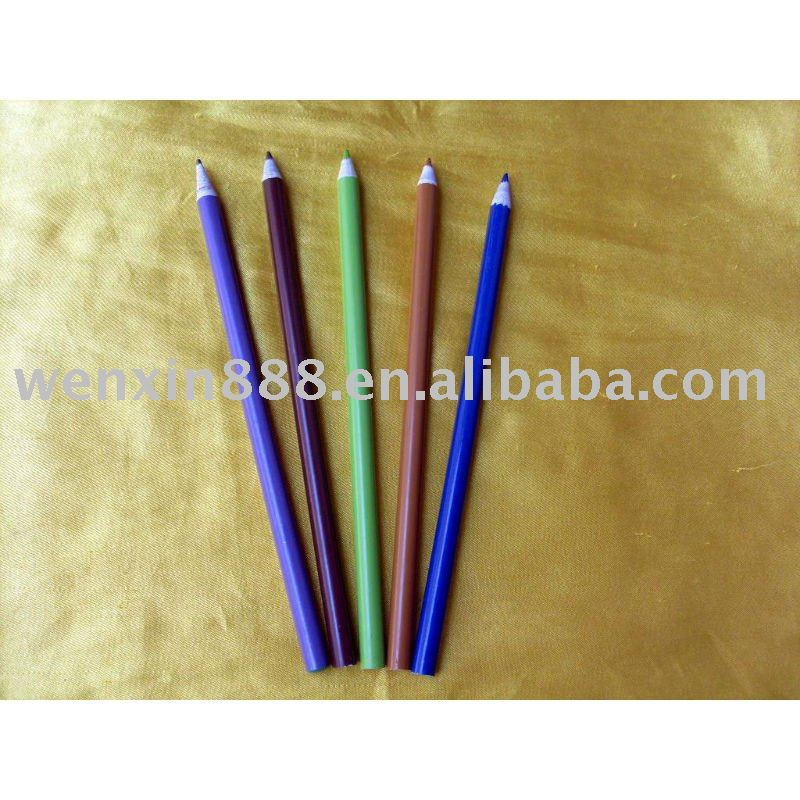 High Quality HB newspaper pencil eco friendly recycled paper pencil(HAJ0080)