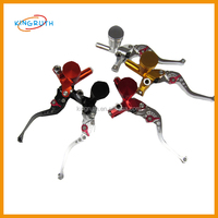 Colorful new style dirt bike motorcycle cnc clutch brake levers
