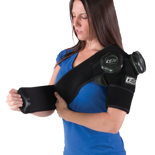 Ice Bag Wrap Hot and Cold Therapy Rian Relief Treatment