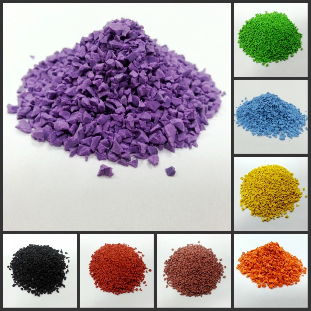 Colorful EPDM Rubber <strong>scrap</strong>, rubber powder/waste rubber tyre/EPDM Rubber Granules-FN-J-15092504