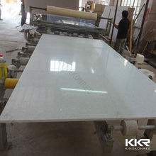 artificial stone shower wall panel/ quartz slab for workshop work bench
