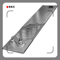 110V 300W Stainless Steel Mica Strip Heater for Fireplace