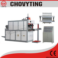 factory supply plastic disposal glass making machine