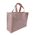 top quality promotional waterproof PVC coated cotton shopping bag