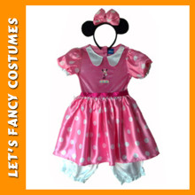 PGCC-0073 kids princess dress Baby Kids Girls Minnie Mouses fancy dress halloween costume for kids