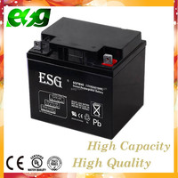 lead acid battery 12v 40ah lawn mower battery