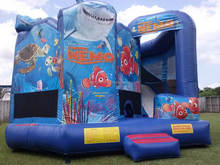 Finding Nemo inflatable bounce house